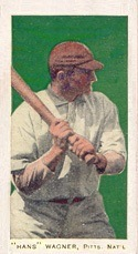 1911 George Close Candy Co. E94 Honus Wagner baseball card