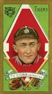 1911 T205 Gold Border Ty Cobb baseball card