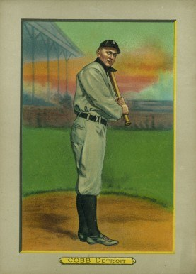 1911 T3 Turkey Red Cabinets Ty Cobb baseball card