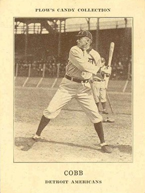 1912 Plow's Candy E300 Ty Cobb baseball card