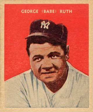 2338bf5f28d Babe Ruth Baseball Cards  The Ultimate Collector s Guide