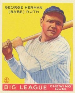 1933 Goudey #53 Babe Ruth baseball card