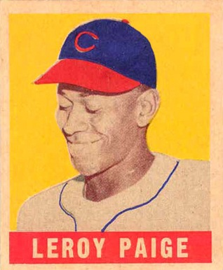 1948 Leaf #8 Satchel Paige Rookie Card