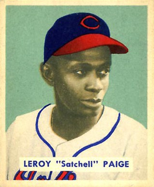 1949 Bowman #224 Satchel Paige Rookie Card