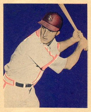 1949 Bowman #24 Stan Musial baseball card