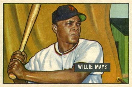 1951 Bowman #305 Willie Mays Rookie Card