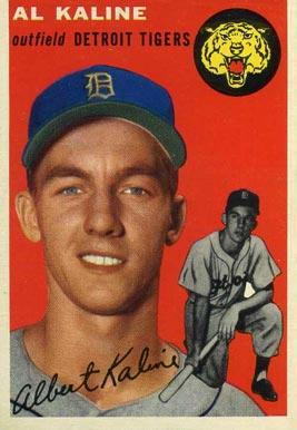 1954 Topps #201 Al Kaline baseball card