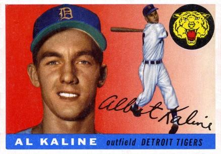 1955 Topps #4 Al Kaline baseball card