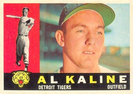 1960 Topps #50 Al Kaline baseball card