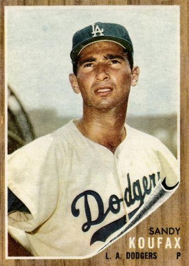 1962 Topps #5 Sandy Koufax baseball card