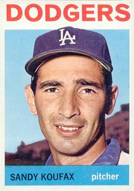 1964 Topps #200 Sandy Koufax baseball card
