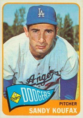 1965 Topps # 300 Sandy Koufax baseball card