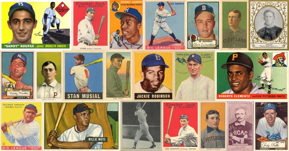 100 Most Valuable Baseball Cards In 2019 The Complete List Old