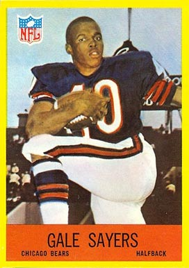 1967 Philadelphia #35 Gale Sayers football card