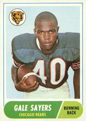 1968 Topps #75 Gale Sayers football card
