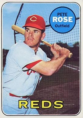 1968 Topps #120 Pete Rose baseball card