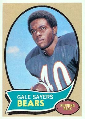 1970 Topps #70 Gale Sayers football card