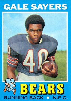 1971 Topps #150 Gale Sayers football card