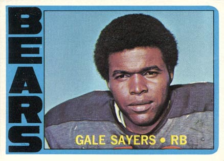 1972 Topps #110 Gale Sayers football card