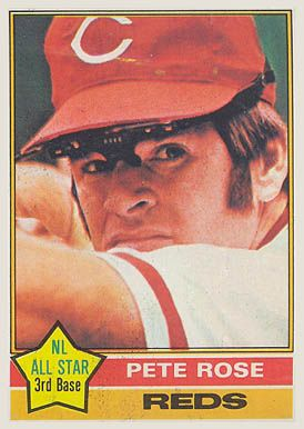 1976 Topps #240 Pete Rose baseball card