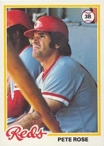 1978 Topps #20 Pete Rose baseball card