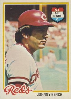 1978 Topps #700 Johnny Bench baseball card