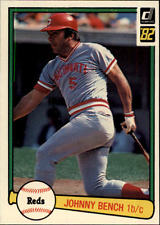 1982 Donruss #400 Johnny Bench baseball card