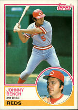 1983 Topps #60 Johnny Bench baseball card