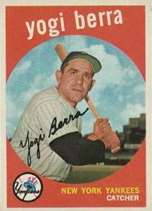 1959 Topps #180 Yogi Berra Baseball Cards