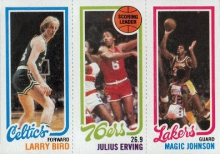1980 Topps #16 Larry Bird Rookie Card