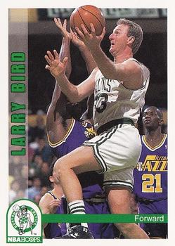 1992 Hoops #10 Larry Bird Basketball Card