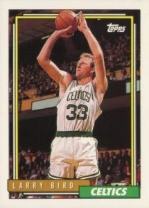 1992 Topps #1 Larry Bird Basketball Card