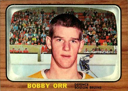 1966 Topps #35 Bobby Orr Rookie Card