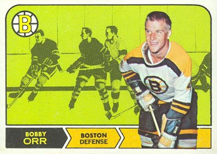 1968 O-Pee-Chee #2 Bobby Orr Hockey Card