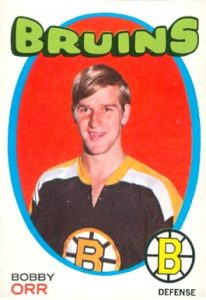 1971 O-Pee-Chee #100 Bobby Orr Hockey Card