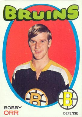 1971 Topps #100 Bobby Orr Hockey Card
