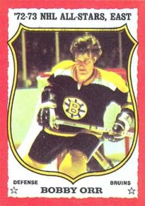 1973 O-Pee-Chee #30 Bobby Orr Hockey Card