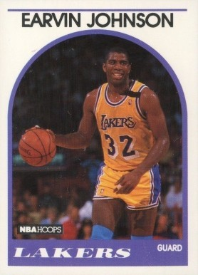 1989 Hoops #270 Magic Johnson Basketball Card