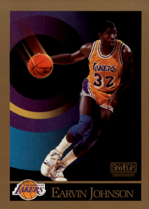1990 Skybox #138 Magic Johnson Basketball Card