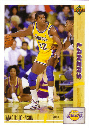 1991 Upper Deck #45 Magic Johnson Basketball Card