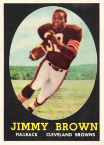 1958 Topps #62 Jim Brown Rookie Card