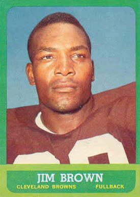 1963 Topps #14 Jim Brown Football Card