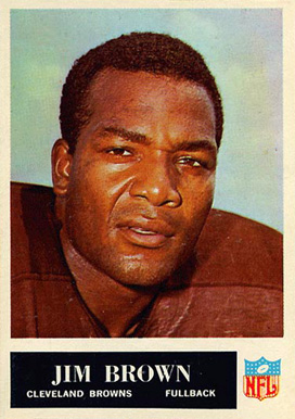 1965 Philadelphia #31 Jim Brown Football Card