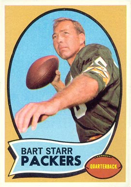 1970 Topps #30 Bart Starr Football Card