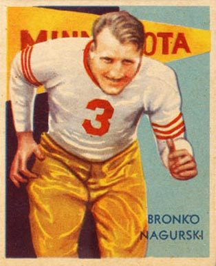 1935 National Chicle Bronko Nagurski Rookie Card