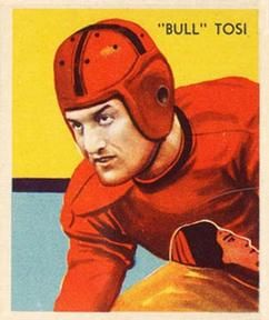 1935 National Chile Bill Tosi Football Card
