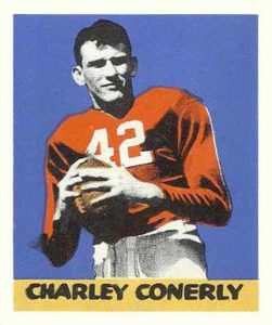 1948 Leaf Charlie Conerly Rookie Card