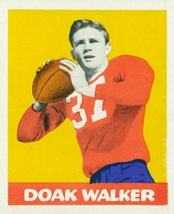 1948 Leaf Doak Walker Rookie Card