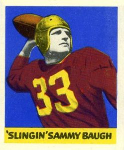 1948 Leaf Sammy Baugh Rookie Card