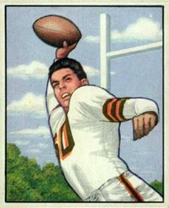 1950 Bowman Otto Graham Rookie Card
